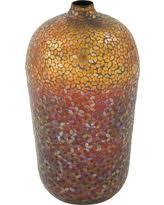 Large Mosaic Vase Bargains On Poly Stone Mirror Mosaic Vase Large