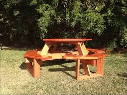 exteriors magnificent cedar picnic table plans picnic table