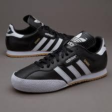 white samba adidas trainer adidas samba soccer shoe black white