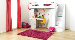 Beds That Have A Desk Underneath Loft Bed With Desk For Girls We Have The Excellent Method For Loft
