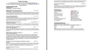Sample Dance Resume For Audition Resume Audition Kids Poem For Homework