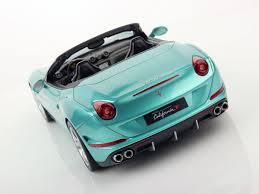 Ferrari California Green - ferrari california t open top 1 18 mr collection models