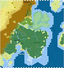 Random Map Generator Hex Map Of Q U0027barra Created In Hexographer Free And Pro Versions