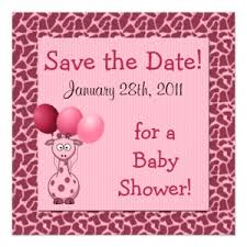 Baby Shower Save The Date Baby Showers 3