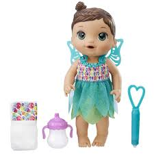 baby alive face paint fairy doll brunette toys