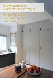 ikea kitchen units painting kitchen units a do it yourself guide edna ossie