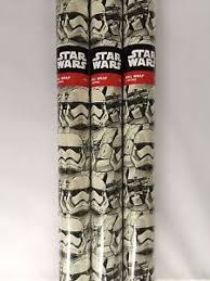 wars wrapping paper 6m wars stormtrooper wrapping paper by hallmark 3 x 2m rolls