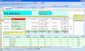 Basic Spreadsheet Financial Excel Templates Spreadsheets 2013