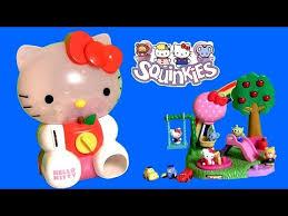 huge kitty squinkies dispenser 8 exclusive surprise