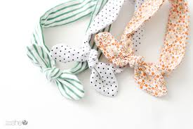 baby hair ties knotted baby headband tutorial diy your own knotted headband