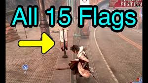 Festival Of Flags Final Fantasy Xv Capture The Flags All 15 Flag Locations