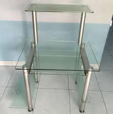 Small Glass Computer Desk Cool Glass Computer Desk At Your Home Finding Desk