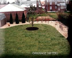 How To Regrade A Backyard Grading Drainage Delaware Outdoor Drainage Problems