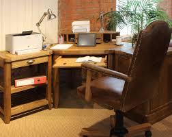 Corner Office Desk With Hutch by Windsor Oak Corner Desk Hutch Oak Furniture Uk