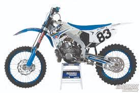 250 motocross bikes motocross action magazine mxa u0027s 2015 tm 250mx motocross test two