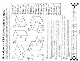 volume of a prism worksheet worksheets