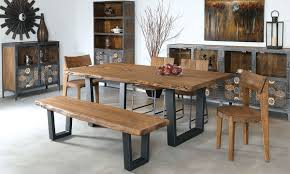 dining room furniture michigan live edge dining room table