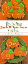 how to make jack o u0027 lantern cookies cookie decorating sugar