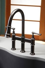 elkay faucets kitchen elkay explore pull bridge faucet traditional kitchen bridge