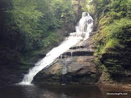 Delaware waterfalls images Uncoveringpa pennsylvania waterfalls how to get to dingmans jpg