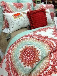 colorful bedroom comforter sets anthologya bungalow reversible