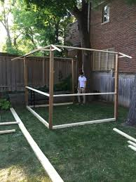 he builds a strange frame in his backyard but wait til you see