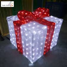 outdoor lighted gift boxes christmas light box christmas light box suppliers and manufacturers