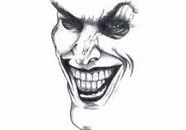 black tribal jester design jester