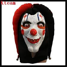 Scary Clown Halloween Costumes Adults Cheap Scary Clown Masks Sale Aliexpress
