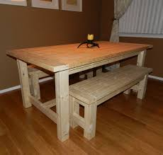 Diy Dining Room Table Plans Homemade Dining Room Table Provisionsdining Com
