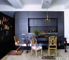 combined living room dining room 31 black room design ideas decorating with black