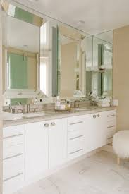 Beveled Mirror Bathroom Beveled Bathroom Mirror Contemporary Bathroom Maison Luxe Home