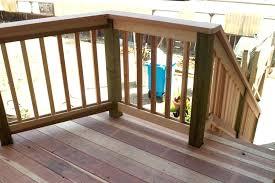 Ideas For Deck Handrail Designs Simple Deck Railing Wooden Porch Railing Decorative Handrail