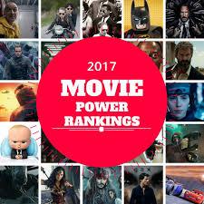 2017 movie power rankings jon negroni