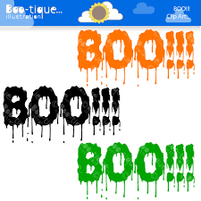 halloween clipart halloween clip art for instant download boo