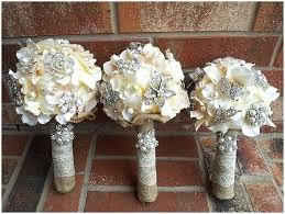 wedding flowers dubai the beautiful brooch bouquet
