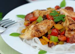 la cuisine facile poulet au chorizo recette simple par cuisine facile la