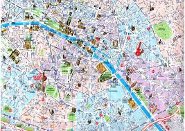 Map Of Paris Metro Map Central Paris Travel Maps And Major Tourist Attractions Maps