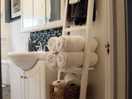 Bathroom Towel Rack Ideas Bathroom Towel Rack Decorating Ideas Photogiraffe Me