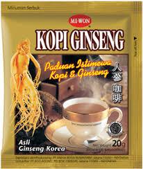 Minuman Ginseng Korea miwon indonesia kopi ginseng