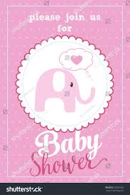 please join us baby shower card stock vector 578221663 shutterstock