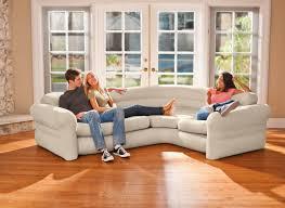 sofa canapé canapé sofa d angle beige gonflable intex jardideco