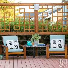 deck furniture ideas deck decor ideas better homes and gardens bhg com