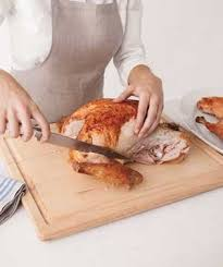 how to carve your thanksgiving turkey real simple