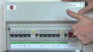 resetting trip switches on your fuse box youtube