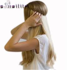 clip in hair s noilite 20 inches invisible wire no in hair extensions