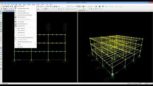 sap2000 steel structure ts full design youtube