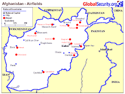 bagram air base map afghanistan