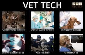 Vet Tech Memes - how the world perceives veterinary techs on we heart it