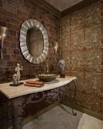 Onyx Vanity Eclectic Powder Room Susan Wesley